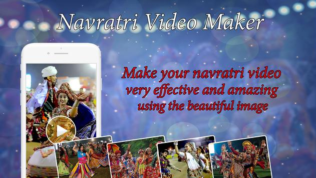 Navratri Video Maker with Music 2017 poster