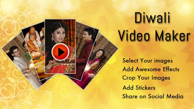 Diwali Video Maker HD poster