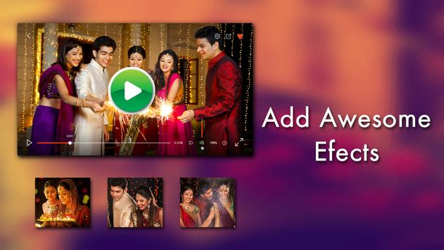 Diwali Video Maker with Music 2017 apk screenshot