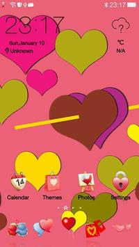 Love Theme for Valentine's Day poster