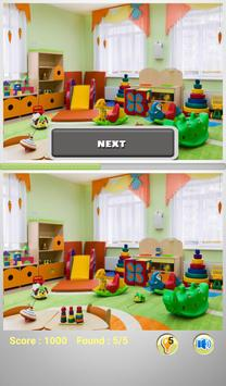 Spot The Differences - Rooms apk screenshot
