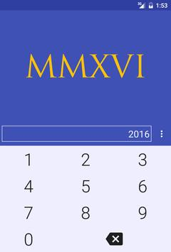 Roman Numerals Converter screenshot 2