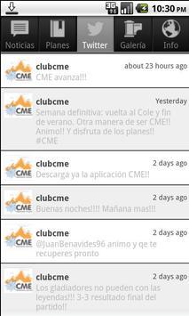 CME Móvil apk screenshot