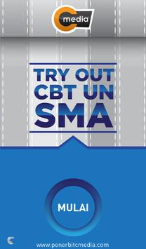 Tryout CBT UN SMA poster