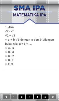 Tryout CBT UN SMA apk screenshot