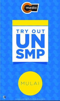 Tryout UN SMP poster