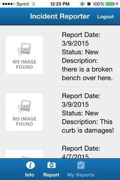 CM Incident Reporter apk screenshot