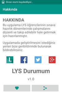 LYS Durumum apk screenshot