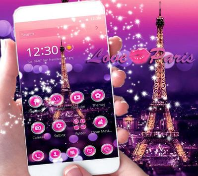 Dream Paris Eiffel tower Theme poster
