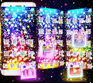 Glitter Stars Theme screenshot 7