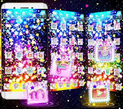 Glitter Stars Theme screenshot 1
