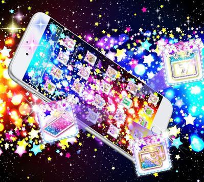 Glitter Stars Theme screenshot 2