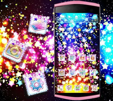 Glitter Stars Theme screenshot 3