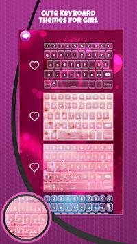 Cute Keyboard Themes for Girl screenshot 3