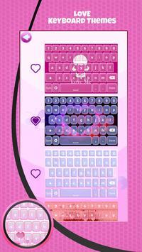 Love Keyboard Theme screenshot 3