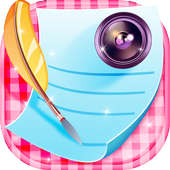 Photo Writer Caption Maker icon