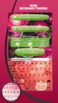 Rose Keyboard Themes screenshot 2