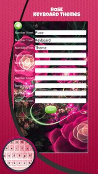 Rose Keyboard Themes screenshot 3