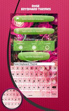 Rose Keyboard Themes screenshot 4