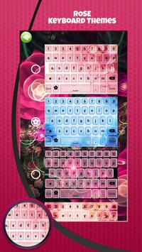 Rose Keyboard Themes apk screenshot