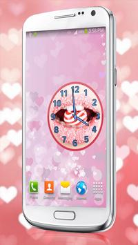 Sugar Lips Clock Widget apk screenshot