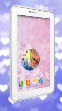 Sugar Lips Clock Widget screenshot 5