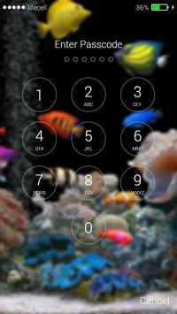 Aquarium Fish 3D Lock Screen screenshot 4