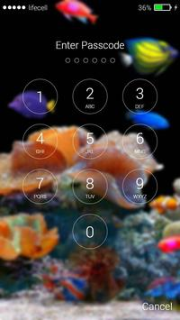 Aquarium Fish 3D Lock Screen screenshot 7
