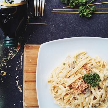 Preparar una deliciosa pasta con salsa CARBONARA screenshot 1