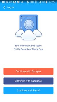 Cloud Space of CM Security screenshot 1