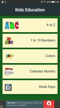 Kidsbaba: Alphabet, Numbers... poster