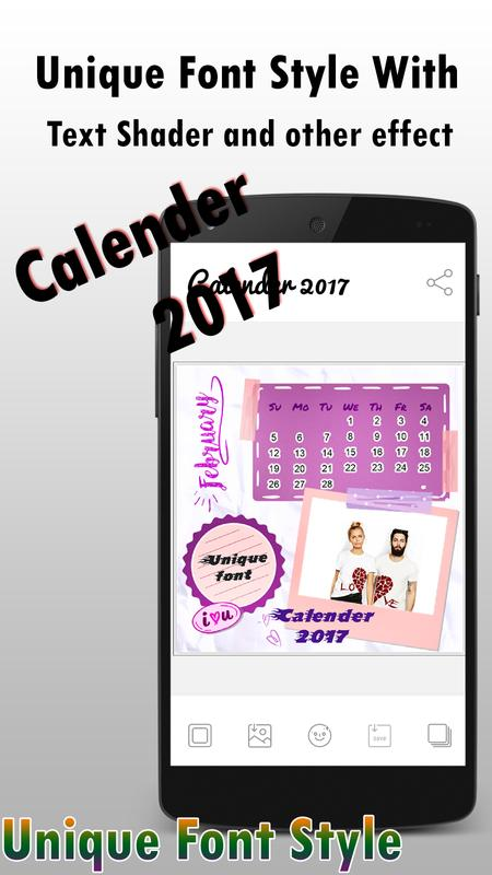 Calender Insta Frame 2017 for Android - APK Download