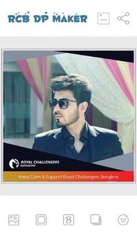 IPL DP Maker -Support RCB Team poster