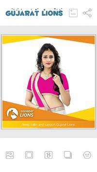 IPL DP Maker - Support GL Team poster