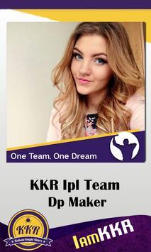 Support KKR IPL Dp Maker screenshot 1