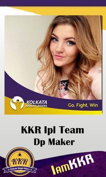 Support KKR IPL Dp Maker screenshot 3