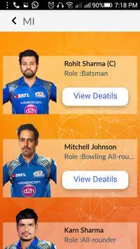 T20 Cricket Schedule & News apk screenshot