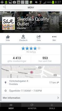 Swedala Outlet screenshot 3