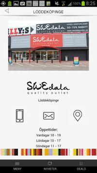 Swedala Outlet screenshot 1