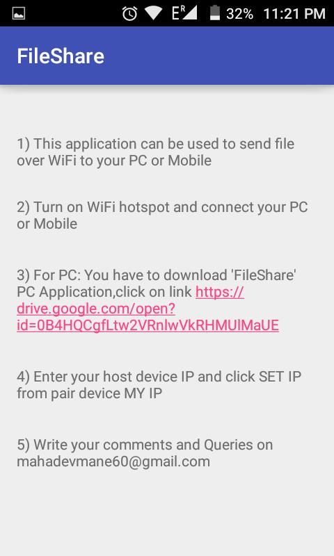 Fast WiFi File Transfer for Android - APK Download