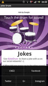 Joke Drum! apk screenshot