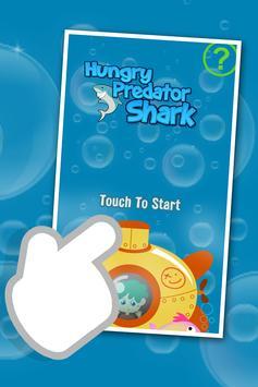 Hungry Predator Shark poster