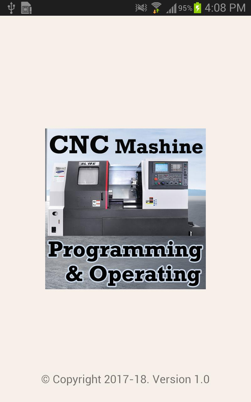CNC Machine Programming and Operating Videos App for Android