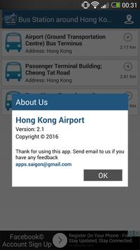 Hong Kong Airport: Flight tracker apk screenshot