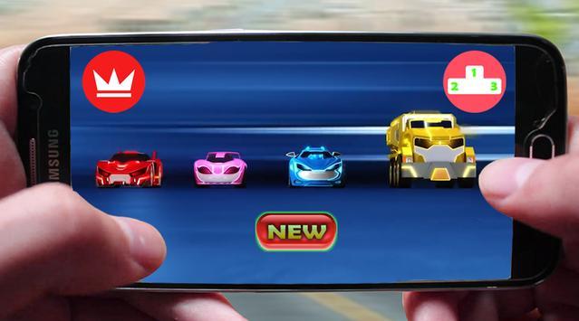 4 Super Watch Car Battle apk screenshot