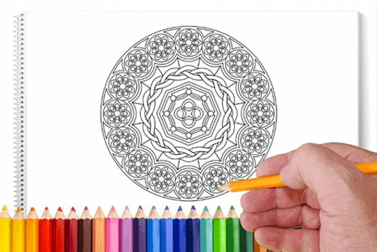 Mandala Art Coloring Book For Adults Apk Screenshot