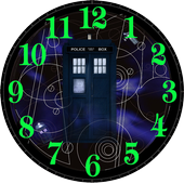 TIME TRAVELING CLOCK WIDGET icon