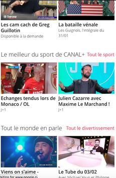 Français Canal + poster
