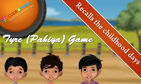 Tyre(Pahiya)Game screenshot 2