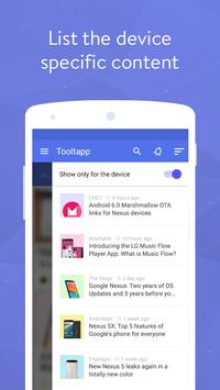 Tooltapp - Daily Android Tips apk screenshot